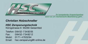 HSC Zerspanungstechnik