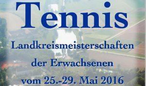 Landkreismeisterschaft 2016 in Scheyern @ Tennisclub Scheyern e.V | Scheyern | Bayern | Deutschland